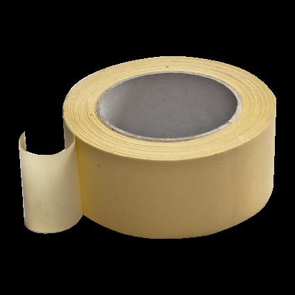 DELTA-Krepp 80 ° C 19 mm x 50 m gelb, sehr hohe Klebkraft