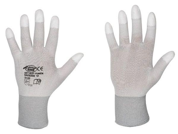 Feinststrick-Handschuhe YUMEN Gr. 10