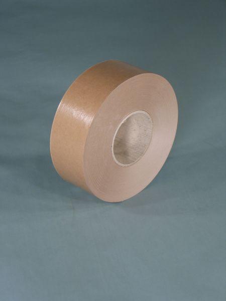 Naßklebeband braun 60 mm x 200 lfm mit Hülse 70 mm