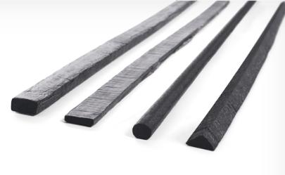 Butyl-Flachband 2 x 12 mm x 15 m schwarz