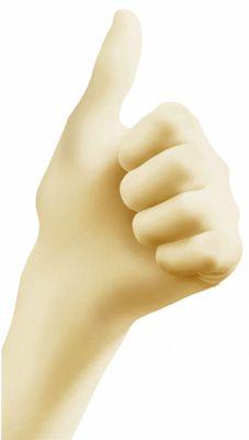 Einmalhandschuhe Latex ungepudert EN 455 lebensgeprüft Gr. 10