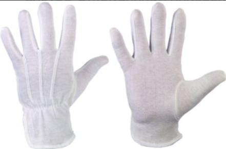 BAOTOU* STRONGHAND® Gr. 10 Träger: 100% Baumwolle, Trikot, gebleicht, weiß