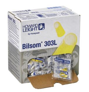 BILSOM 303 L Schaumstoff 10 Paar im Beutel, 20 Beutel im Karton
