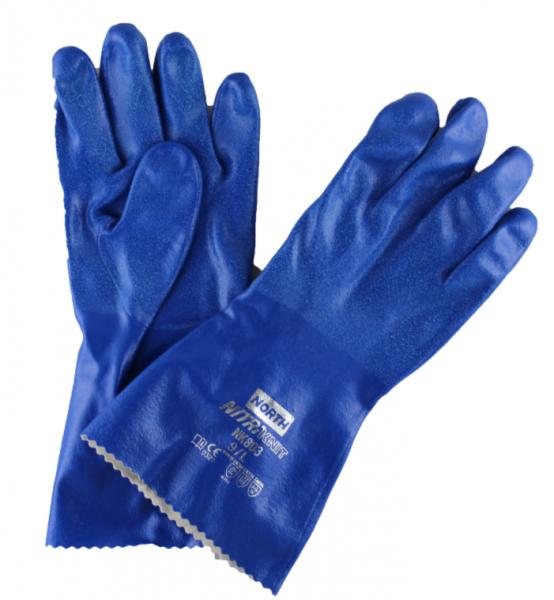 Nitri Knit - NK803 Gr. 10, blau