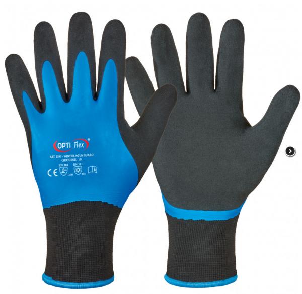 Winter Aqua Guard Gr. 9, Latex,Polyester Handschuh