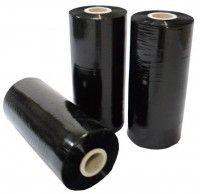 Handstretchfolie schwarz 23 µ 500/300  2,5 kg /Rolle
