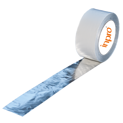 Aluminium Klebeband   50 mm x 100 lfm 25 µ