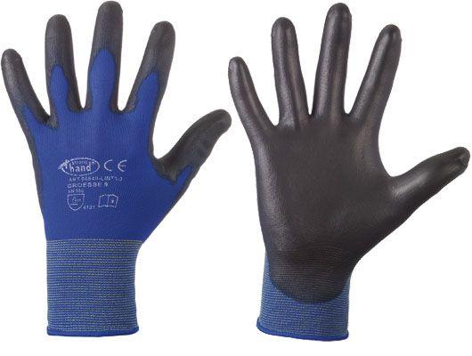 Lintao PU-beschichteter Nylon Handschuh Gr. 6