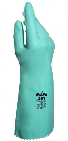 "Nitril Chemie-Handschuhe ""STANSOLV AK-22"" -  MAPA® Gr.  9"