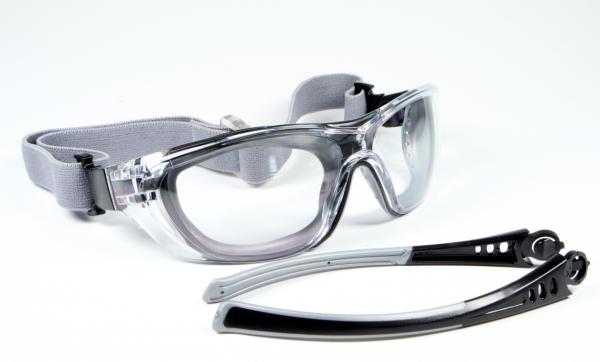 Schutzbrille 580, Nr. 158002010,farblos PC 2 mm kratzfest + antifog