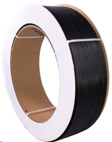 Umreifungsband PP schwarz 12,7 x 0,65 mm Kern 406