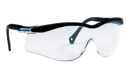 Edge T5600 Sicherheitsbrille schw.Fassung klare Gläser. NH 908320