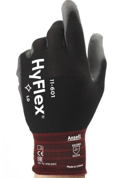 Ansell HyFlex 11-601 PU-Schutzhandschuhe - Gr. 09