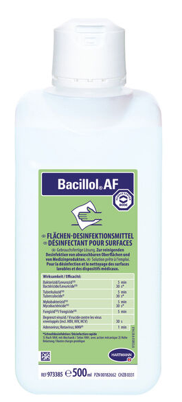 Bacillol AF 500 ml - 39501