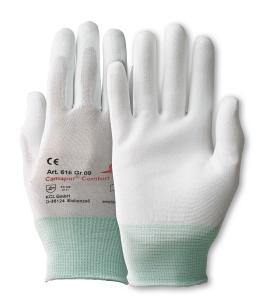 Camapur Comfort 616 Gr. 7 Nahtloses weißes Polyamid-Trikot mit Strickbund und we
