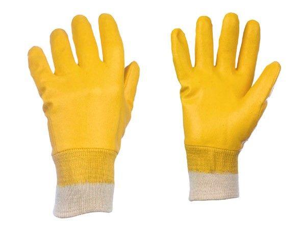 Nitril-Handschuhe YELLOWSTAR Nr.  0550  Gr. 9
