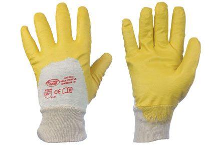 Nitril-Handschuhe YELLOWSTAR  Nr. 0550 Gr. 7