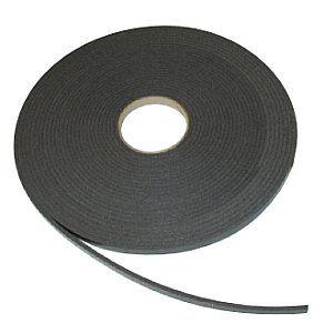 Kanaldichtband grau 6 x 12 mm x 20 lfm