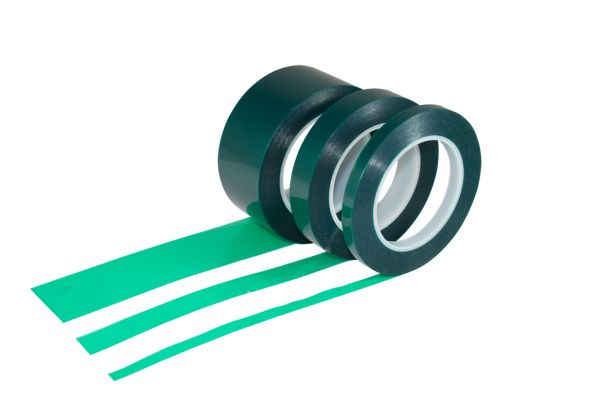 Polyester Klebeband  50/66 grün