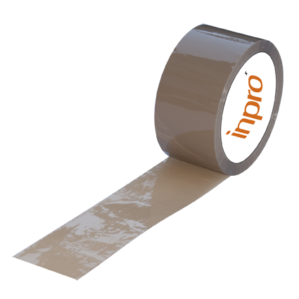 PP-Verpackungsband 32 µ braun 48 mm x  132 lfm