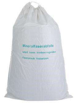 KMF-Sack 140 x 220 cm für Mineralfaserabfälle weiß